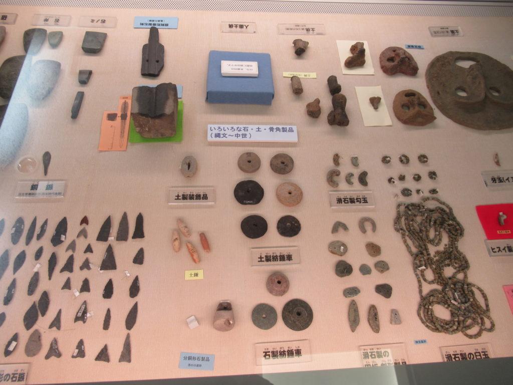 発掘ふれあい館の展示