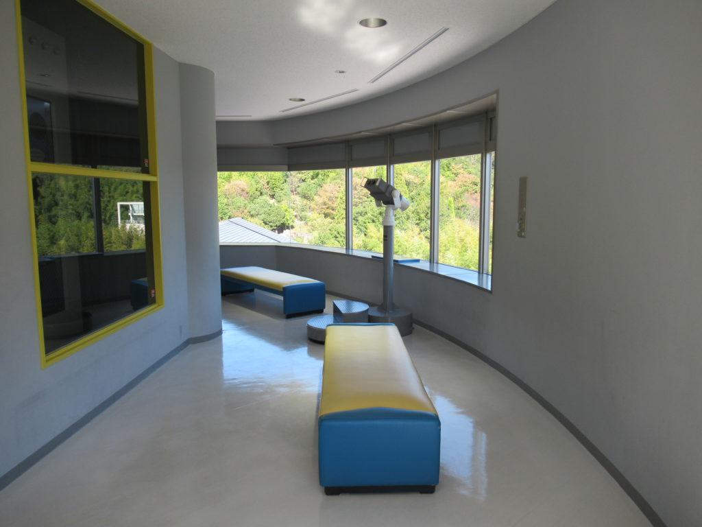 姫路科学館の展望室