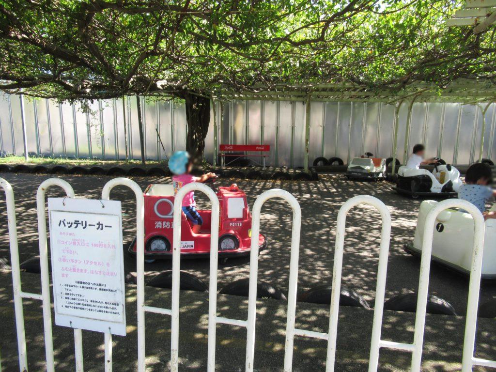 和歌山交通公園のバッテリーカー