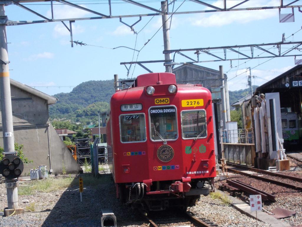 和歌山電鉄のおもちゃ電車