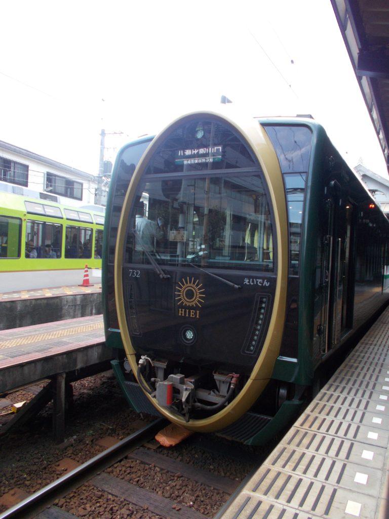 叡山電車の「ひえい」