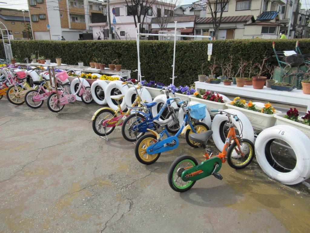 稲野公園運動施設の自転車
