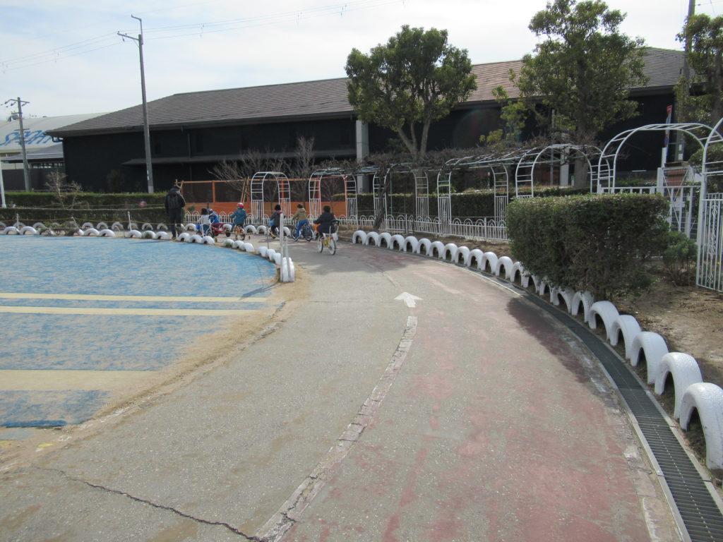 稲野公園運動施設の自転車コース