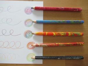 コヒノール マジックペンシル 色鉛筆