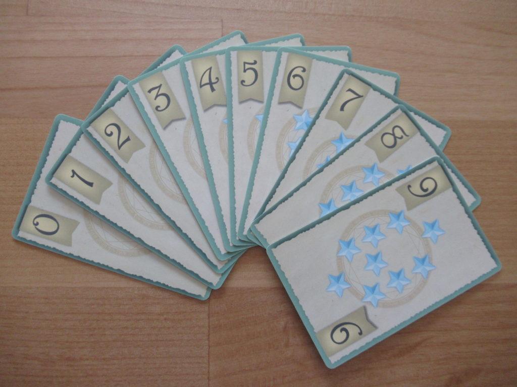 マスマジシャンの数字カード