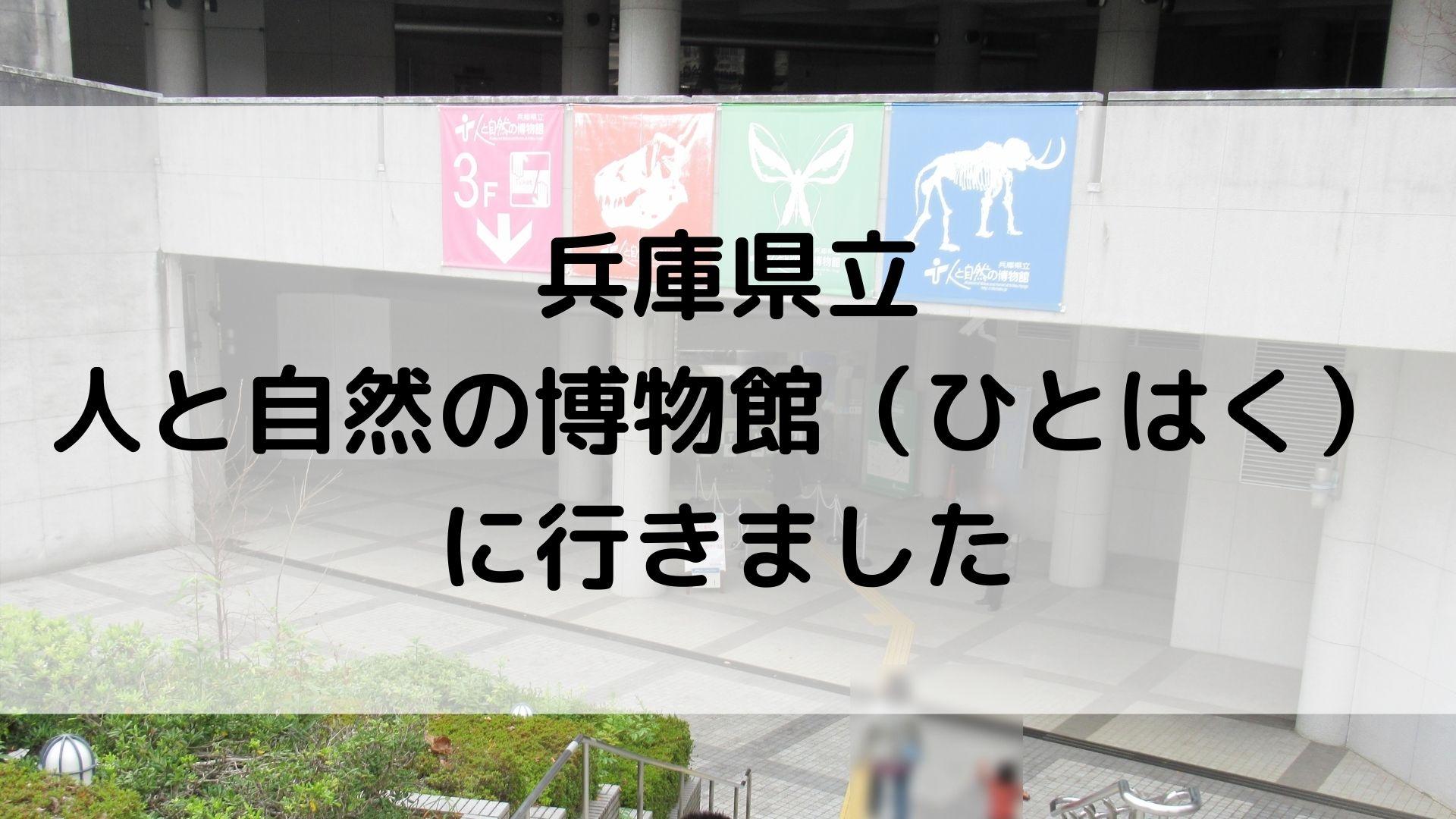 兵庫県立 人と自然の博物館(ひとはく)
