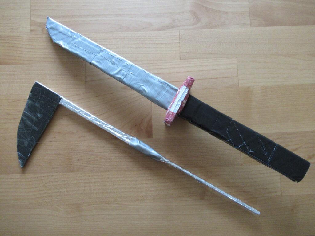 工作で作った刀